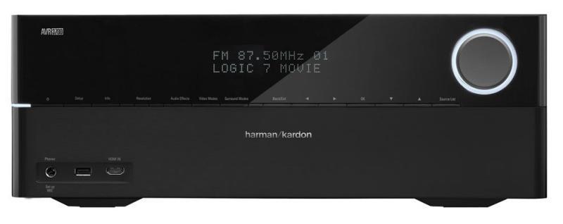 Harman Kardon AVR-3700, передняя панель